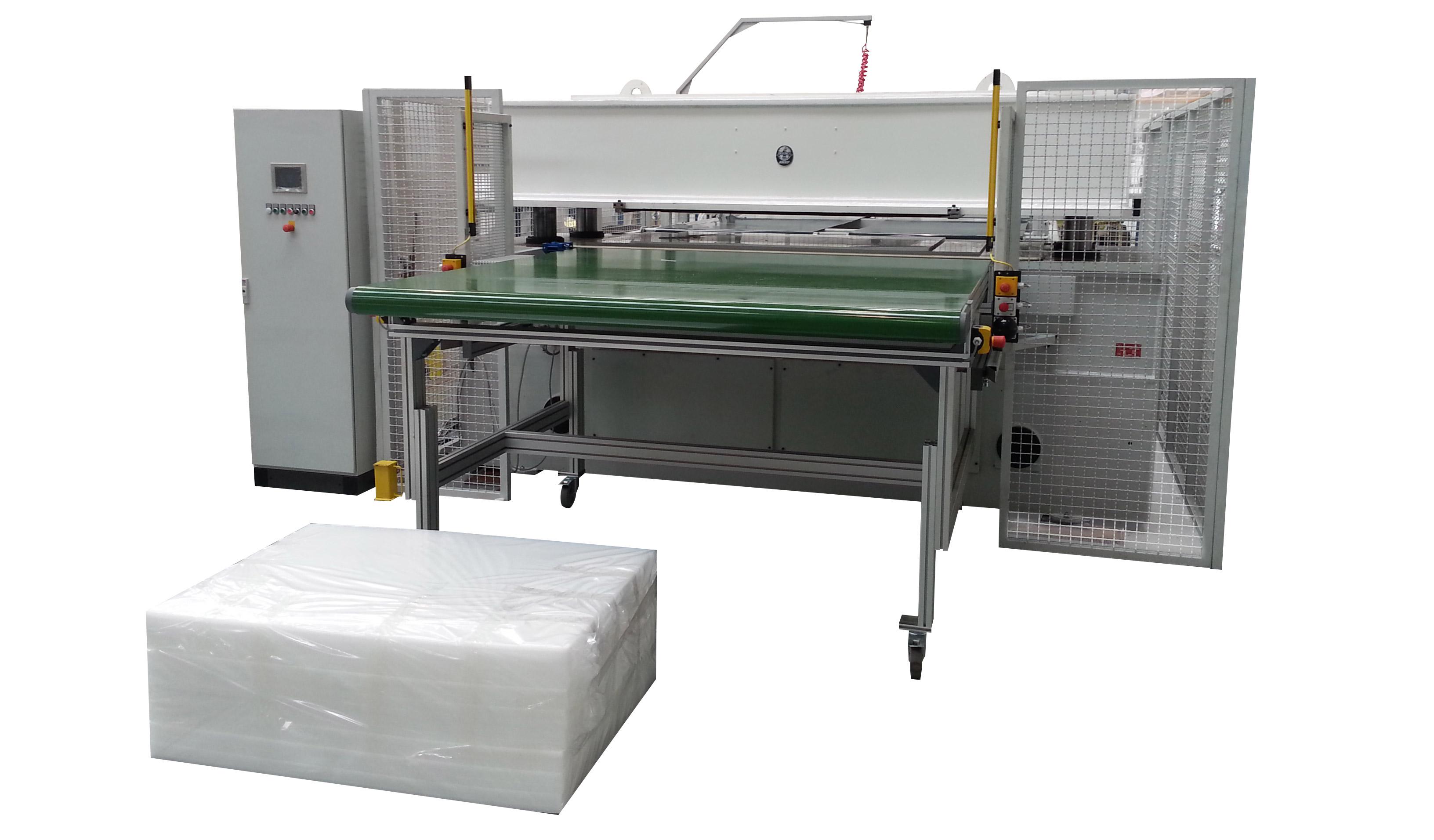GA 2000 Hydraulic Full Beam Cutting Machines